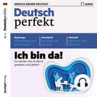 Deutsch lernen Audio - Ich bin da! So werden Sie im Beruf gesehen und gehört