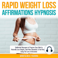 Rapid Weight Loss Affirmations Hypnosis