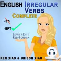 English Irregular Verbs Complete