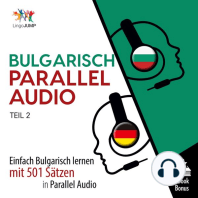 Bulgarisch Parallel Audio