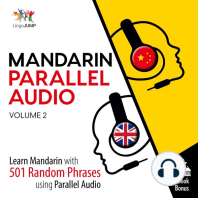 Mandarin Parallel Audio