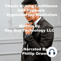Thesis Writing Confidence Self Hypnosis Hypnotherapy Meditation