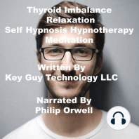 Thyroid Imbalance Relaxation Self Hypnosis Hypnotherapy Meditation