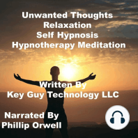 Unwanted Thoughts Relaxation Self Hypnosis Hypnotherapy Meditation