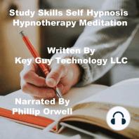 Study Skills Self Hypnosis Hypnotherapy Meditation