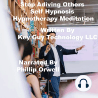 Stop Advising Others Self Hypnosis Hypnotherapy Meditation