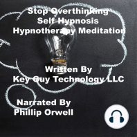 Stop Overthing Self Hypnosis Hypnotherapy Meditation