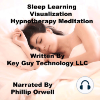 Sleep Learning Visualization Self Hypnosis Hypnotherapy Meditation