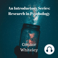Research in Psychology: An Introductory Series