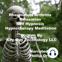 Rheumatoid Arthritis Relaxation Self Hypnosis Hypnotherapy Meditation