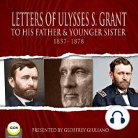 Letter Of Ulysses S. Grant
