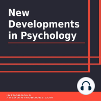New Developments in Psychology
