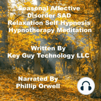 Seasonal Affective Disorder SAD Relaxation Self Hypnosis Hypnotherapy Meditation
