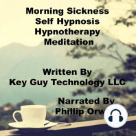 Morning Sickness Relaxation Self Hypnosis Hypnotherapy Meditation