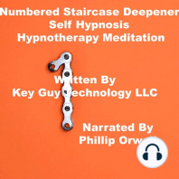 Numbered Stair Case Deepener Self Hypnosis Hypnotherapy Meditation