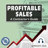 Profitable Sales: A Contractor's Guide