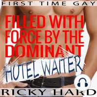 Filled with Force by the Dominant Hotel Waiter
