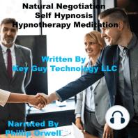Natural Negotiation Skills Self Hypnosis Hypnotherapy Meditation