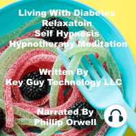 Living With Diabetes Relaxation Self Hypnosis Hypnotherapy Meditation