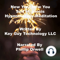 New Year New You Self Hypnosis Hypnotherapy Meditation
