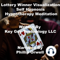 Lottery Winner Visualization Self Hypnosis Hypnotherapy Meditation