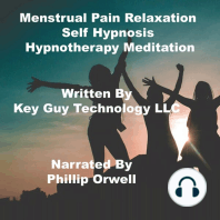 Menstrual Pain Relaxation Self Hypnosis Hypnotherapy Meditation