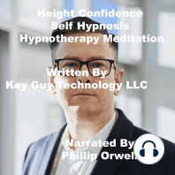 Height Confidence Self Hypnosis Hypnotherapy Meditation