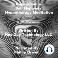 Hypersomnia Relaxation Self Hypnosis Hypnotherapy Meditation