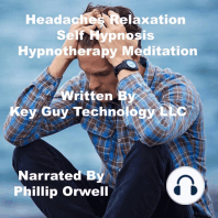 Headaches Relaxation Self Hypnosis Hypnotherapy Meditation
