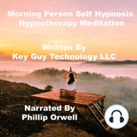 Morning Person Self Hypnosis Hypnotherapy Meditation