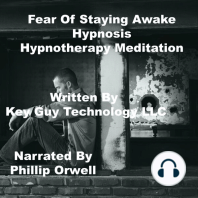 Fear Of Staying Awake Self Hypnosis Hypnotherapy Meditation