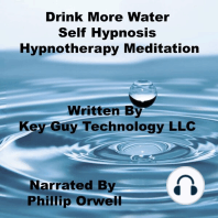 Drink More Water Self Hypnosis Hypnotherapy Meditation