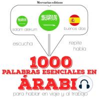 1000 palabras esenciales en árabe