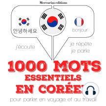 1000 mots essentiels en coréen