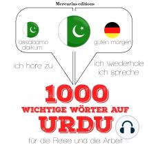 1000 wichtige Wörter auf Urdu für die Reise und die Arbeit