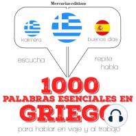 1000 palabras esenciales en griego