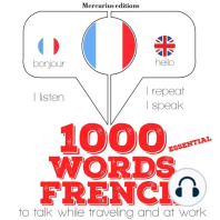 1000 essential words in French