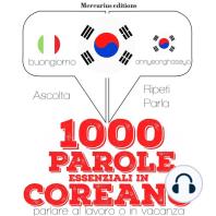1000 parole essenziali in Coreano