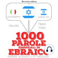 1000 parole essenziali in Ebraico