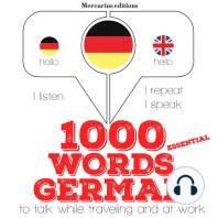 1000 essential words in German