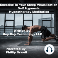 Exercise In Your Sleep Self Hypnosis Hypnotherapy Meditation