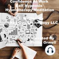 Confidence At Work Self Hypnosis Hypnotherapy Meditation