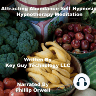 Attracting Abundance Self Hypnosis Hypnotherapy Meditation