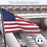 Mueller Report, The - Volume II: Report On The Investigation Into Russian Interference In The 2016 Presidential Election