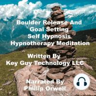Boulder Release Self Hypnosis Hypnotherapy Meditation