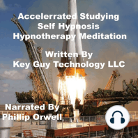 Accelerrated Studying Self Hypnosis Hypnotherapy Mediation