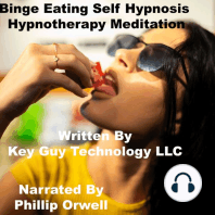 Binge Eating Self Hypnosis Hynotherapy Meditation