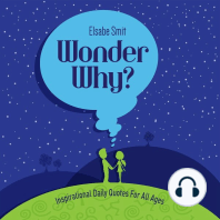 Wonder Why? Inspirational Daily Quotes for All Ages