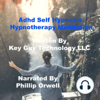 Adhd Self Hypnosis Hypnotherapy Meditation