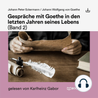 Gespräche mit Goethe in den letzten Jahren seines Lebens (Band 2)